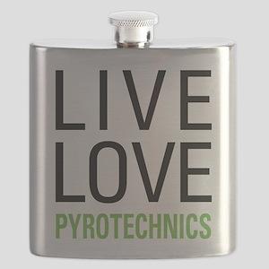 Pyrotechnics Flask