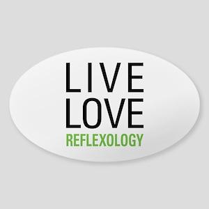 Reflexology Sticker (Oval)