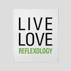 Reflexology Throw Blanket