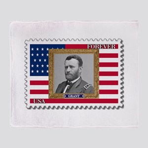 Ulysses S. Grant Throw Blanket