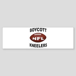 BOYCOTT NFL Bumper Sticker