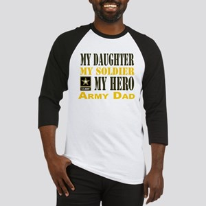 Army Dad Daughter Baseball Jersey