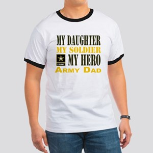 Army Dad Daughter Ringer T