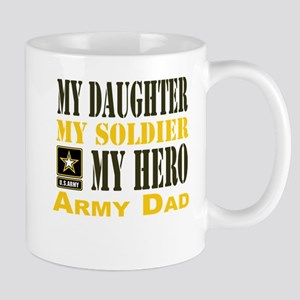 Army Dad Daughter Mug