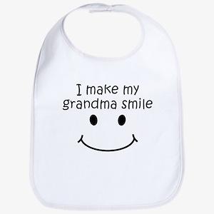 I Make My Grandma Smile Bib