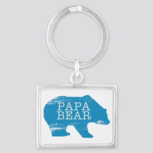 Papa Bear Keychains
