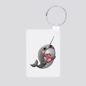 Cute Narwhal with Donut Keychains