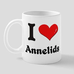I love annelids  Mug