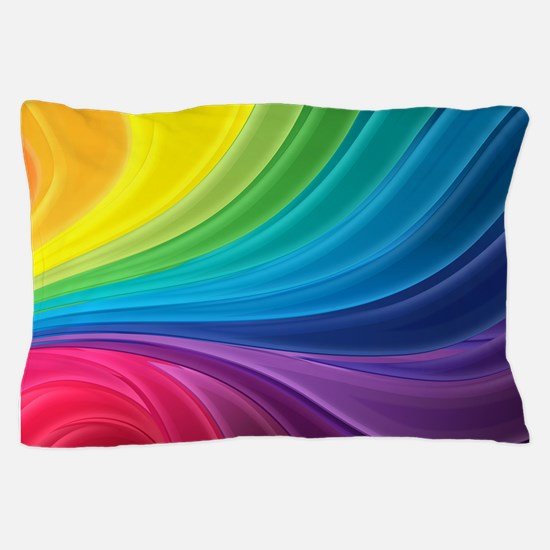 Rainbow Delight Pillow Case