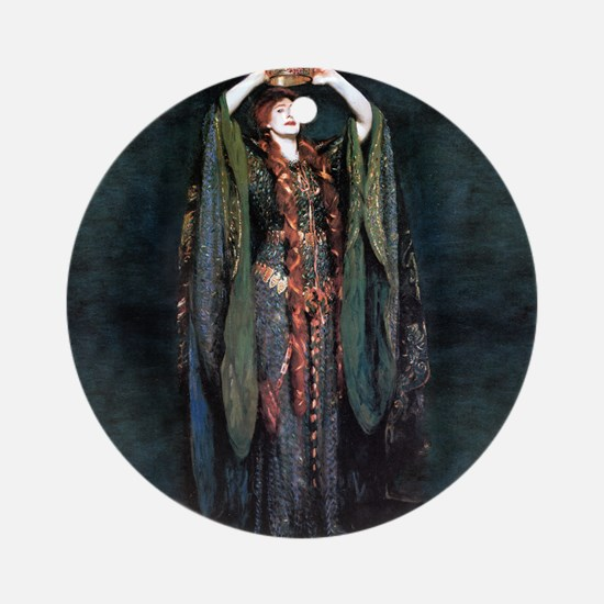 Ellen Terry - Lady Macbeth Ornament (Round)