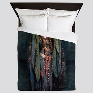 Ellen Terry - Lady Macbeth Queen Duvet