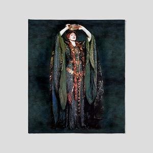 Ellen Terry - Lady Macbeth Throw Blanket
