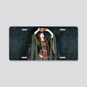 Ellen Terry - Lady Macbeth Aluminum License Plate