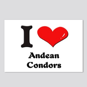 I love andean condors  Postcards (Package of 8)