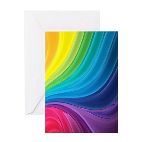 Rainbow Delight Greeting Cards