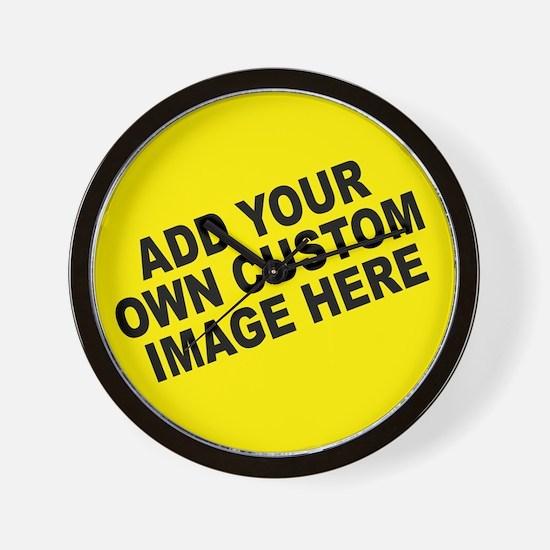 Add Your Own Custom Image Wall Clock