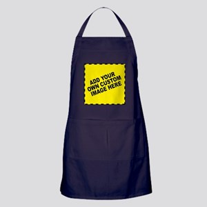 Add Your Own Custom Image Apron (dark)