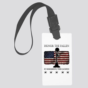 Honor The Fallen Large Luggage Tag