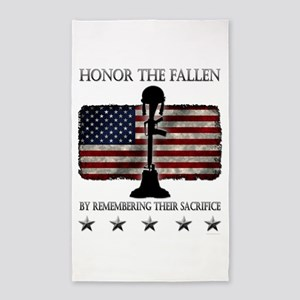 Honor The Fallen 3'x5' Area Rug