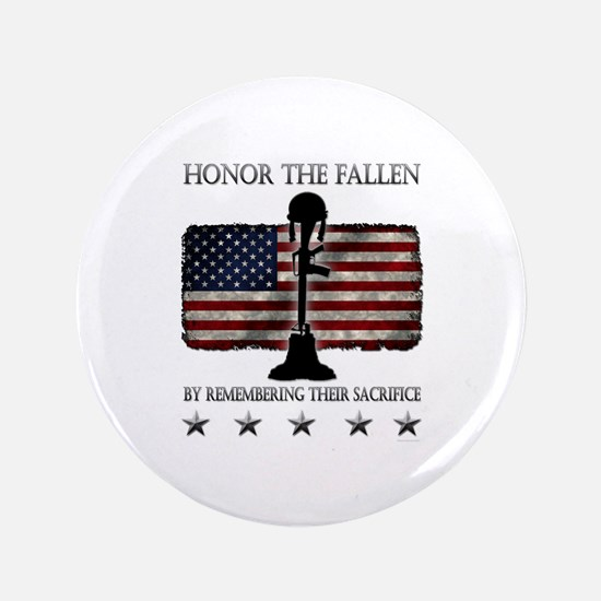 "Honor The Fallen 3.5"" Button (100 pack)"