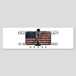 Honor The Fallen Sticker (Bumper)