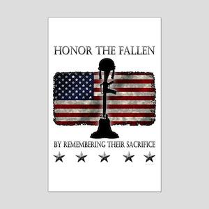 Honor The Fallen Mini Poster Print