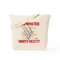 COATH TERMINATED Tote Bag