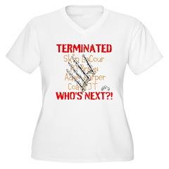 COATH TERMINATED Plus Size T-Shirt