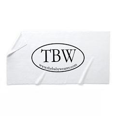 Tbw Oval Beach Towel