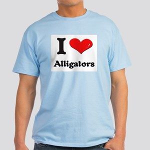 I love alligators Light T-Shirt