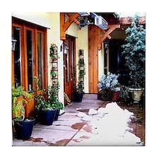 Shop Courtyard Tile Coaster