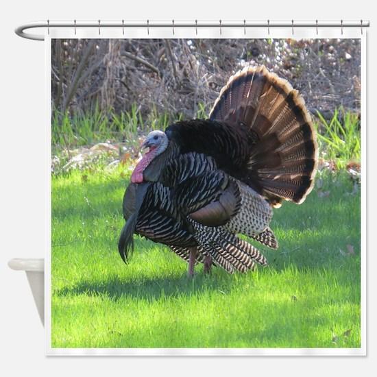 Turkey Shower Curtain