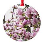 magnolia madness Round Ornament