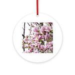 magnolia madness Ornament (Round)