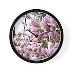 magnolia madness Wall Clock