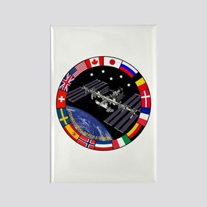 ISS Program Composite Rectangle Magnet