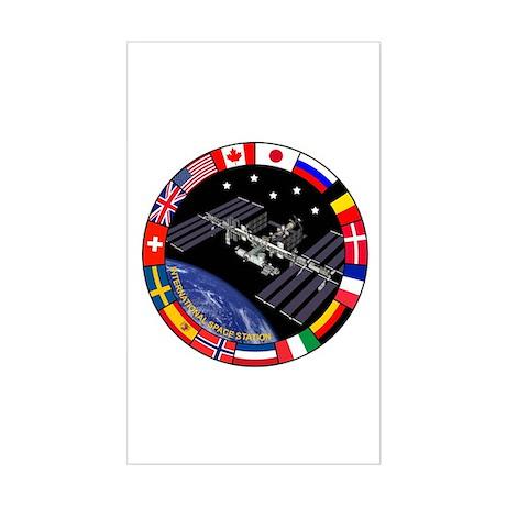 ISS Program Composite Sticker (Rectangle)