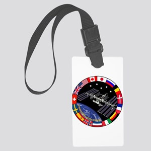 ISS Program Composite Large Luggage Tag