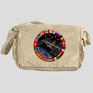 ISS Program Composite Messenger Bag