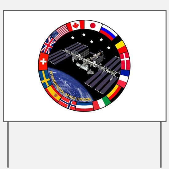 ISS Program Composite Yard Sign