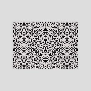 Baroque Style 1 5'x7'Area Rug