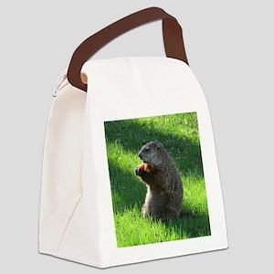 Groundhog Canvas Lunch Bag