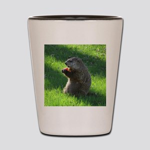 Groundhog Shot Glass