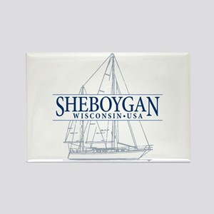 Sheboygan - Rectangle Magnet