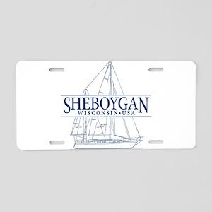 Sheboygan - Aluminum License Plate