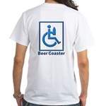 40-oz Beer Coaster - White T-Shirt