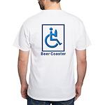 40-oz Beer Coaster - White T-Shirt