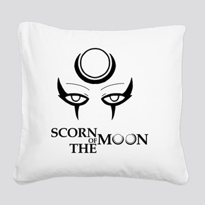 Diana, The Scorn of The Moon Square Canvas Pillow