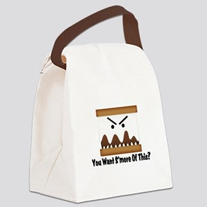 You Want S'more Of This? Canvas Lunch Bag