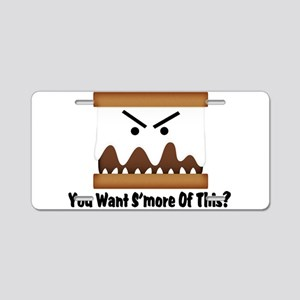 You Want S'more Of This? Aluminum License Plate